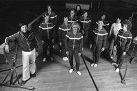 Women's Gymnastics team photograph