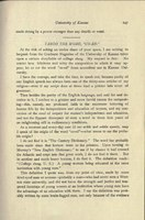 """THE GRADUATE MAGAZINE, volume 8, number 7, April, 1910. """"Taboo the Word, 'Co-Ed,'"""" by Professor Kate Stephens."""