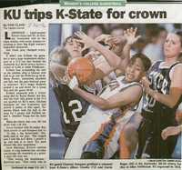 KU trips K-State for crown