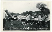 Stadium Day barbeque, May 10, 1921