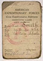 Lt. Wint Smith Identification Card