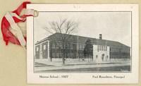 Monroe School, Topeka, Kansas, 1927.