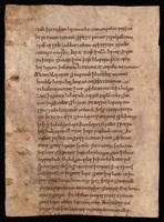 """Fragment of """"Sermo in natale unius confessoris."""""""