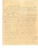 Letter from Bob Dole to Phog Allen, 1938