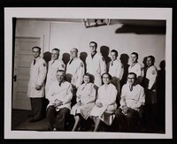Mary Huntoon and her fellow Manual Art Therapists at the Winter Veterans Administration Hospital.