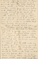 """Letter written by Corporal Horace """"Hod"""" Hakes Rich to his wife."""