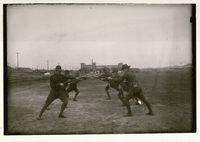 Bayonet Drill, Fort Riley, Kansas, 1917